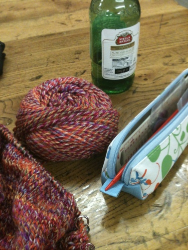 Beer and Knitting