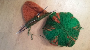Orange and Green - kind of troll colours